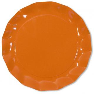 5 MAXI ASSIETTES ORANGE